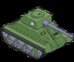 Char de la 2e Guerre mondiale
