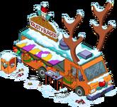 Camion à burgers de renne