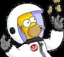 Homer Astronaute