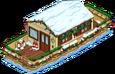Maison bateau de Noël