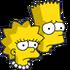 Bart&Lisa Triste