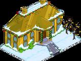 Demeure en or massif de Noël