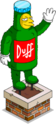 Topiaire nain Duff sordide