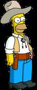 Homer Cow-boy Menu
