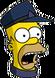 HomerConducteur Surpris