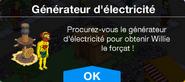 Générateurd'électricité