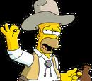 Homer Cow-boy