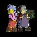 Mona Simpson & Nana Sophie Mussolini