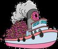 Cargaison de 2400 donuts