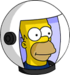 HomerAstronaute Icon