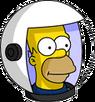 HomerAstronaute Icon