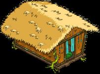 Hutte tribale rigellienne