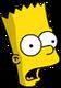 Bart bébé Surpris