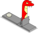 Faux serpent rouge