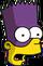 Bartman Surpris Icon