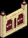 Mur des hiéroglyphes