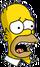 Homer Effrayé