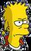 Bart le looser Ennuyé