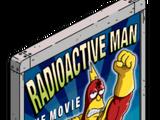 Panneau Radioactive Man
