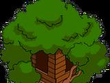 Cabane dans l'arbre de Bart