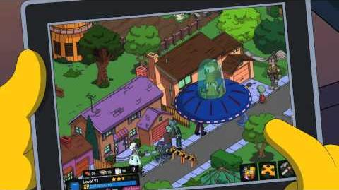 The Simpsons Tapped Out - Treehouse of Horror Update