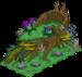 Faune de souche d'arbre