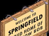 """Panneau """"Bienvenue Bob"""""""