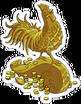 Statue coq Icon