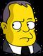 J. Edgar Hoover Pensif