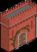 Porte fortifiée Académie de la magie
