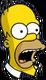 Homer Surpris