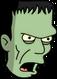 Monstre de Frankenstein Colère
