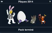Pâques 2014 pack