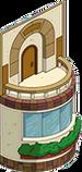 Balcon latéral classique