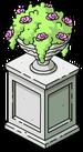Pot de fleurs dans jardins