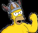 Homer Barbare alternatif