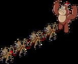 Primates gonflables