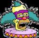 Face de Clown Blessé