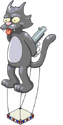 Ballon Scratchy de Krustyland