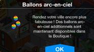 Ballons arc-en-ciel Boutique