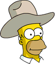 HomerCowboy Icon