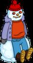 Homer rando de neige