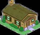 La mystérieuse maison marron