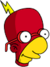 Radioactive Milhouse Icon