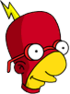 Radioactive Milhouse Icon