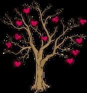 Arbre de la St-Valentin Halloween