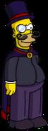 Homer maléfique Menu