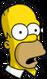 Homer Yeux vitreux