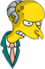 M. Burns Colère