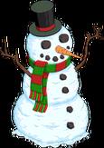 Plus beau bonhomme de neige